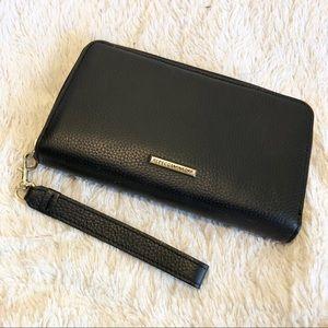 Rebecca Minkoff Black Leather Studded Wallet
